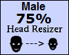 !Head Scaler 75% Male