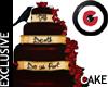 The Gothic  Wedding Cake