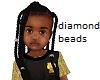 Kids Long Plaits Diamond