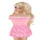 rose dress ~ girls flat