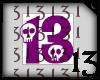 13 Skull Purple Drk NoBG