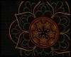 Tribal Gold Mandala