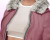 !B Fur Coat Pink