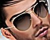 D! Aviator Black Glasses