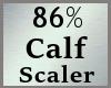 86% Calves Calf Scale MA
