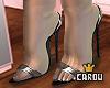 c. clear olivia heels