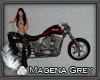 Red Native Motorcycle