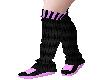 Sneakers & LegWarm Lilac