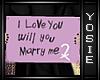 ~Y~Marry me? M