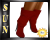 [SIN] Dark Red Boot