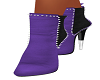 Purple Pattie Booties