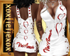 [L] Valentine Amor Dress