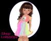 Kid Rainbow Dress
