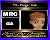 Clay Ginger Hair