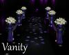 V & E Wedding Aisle