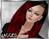 Valeria black red