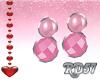 Valentine Satin Earrings