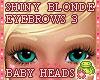 ! EYEBROWS 3 Blond Shiny