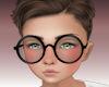 Kids black glasses