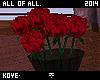 Roses in vase