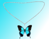 *N* BUTTERFLY NECKLACE