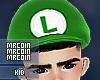 🔰 Luigi Hat KID M