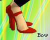 [B] Red heel