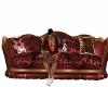 Red Tiger Sofa