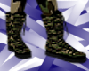 GreenCamoBoots Small