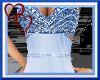 W| Long Blue Gown