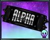 Alpha Armband R / F