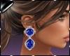 Earring Fani Blue