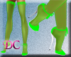 (DC)Stockings Green V