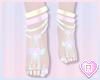 Dainty Pastel Feet
