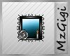 Mirror-Turquoise --Badge