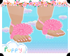 . Cute Flower Feet