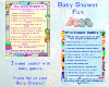 Baby Shower games set 1