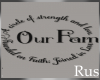 Rus: Family Wall Decal