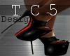 Hot black platforms