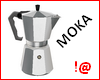 !@ Moka coffee maker
