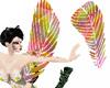 ~BK~Rainbow feathers