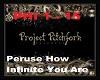 Peruse How Infinite You