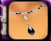Onyx Drop Necklace