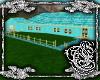 {E}Aqua Teal Gold Ranch