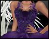 Black Purple Gown ~