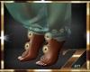 genie harem slippers