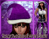 {r} Purple Elf Fur Hat