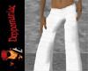 Silk Pants WHITE