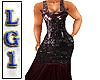 LG1 Burgundy Dress RL