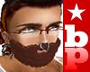 Bushy Brunette Beard